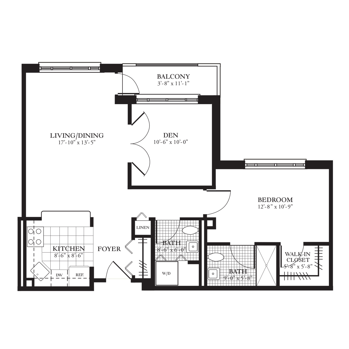 Erie Floor Plan